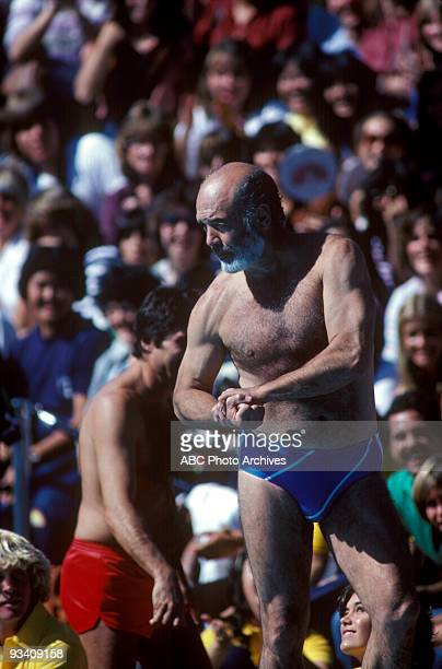 SPECIAL 'Battle of the Network Stars' 11/20/81 Pernell Roberts on the ABC Television Network competition 'Battle of the Network Stars'