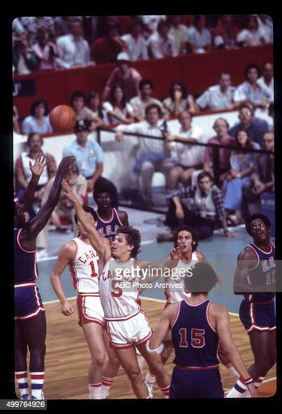 OLYMPICS Men's Basketball The 1976 Summer Olympic Games aired on the ABC Television Network from July 17 to August 1 1976 Shoot Date July 26 1976...