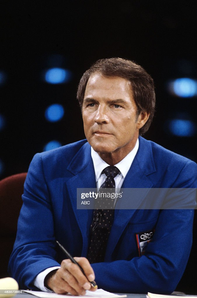 Summer Olympics - Frank Gifford, ABC Sports Commentator Mandatory credit ABC