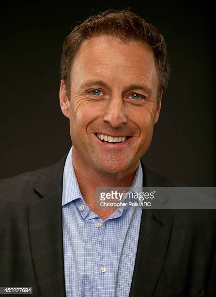 ABC's 'Bachelor in Paradise' host Chris Harrison poses for a portrait during ABC's 2014 TCA summer press tour at The Beverly Hilton Hotel on July 15...