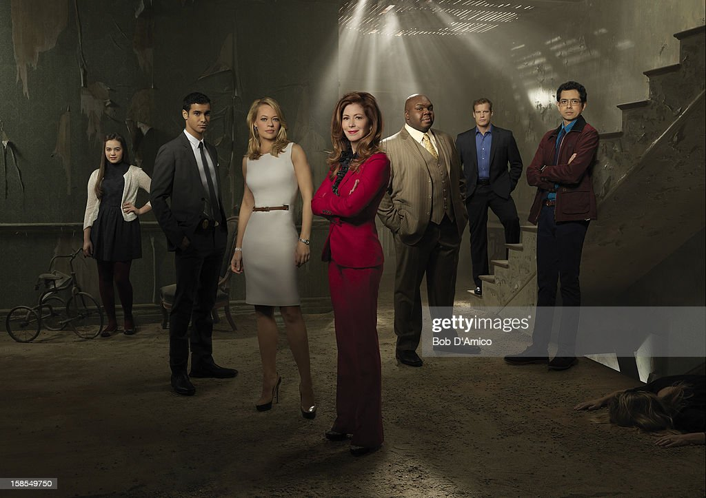 PROOF - ABC's 'Body of Proof' stars Mary Mouser as Lacey Fleming, Elyes Gabel as Detective Adam Lucas, Jeri Ryan as Dr. Kate Murphey, Dana Delany stars as Dr. Megan Hunt, Windell D. Middlebrooks as Dr. Curtis Brumfield, Mark Valley as Detective Tommy Sullivan and Geoffrey Arend as Dr. Ethan Gross.