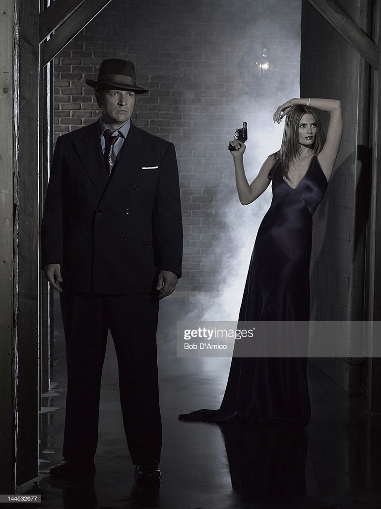 CASTLE - ABC's 'Castle' stars Nathan Fillion as Richard Castle and Stana Katic as Detective Kate Beckett.