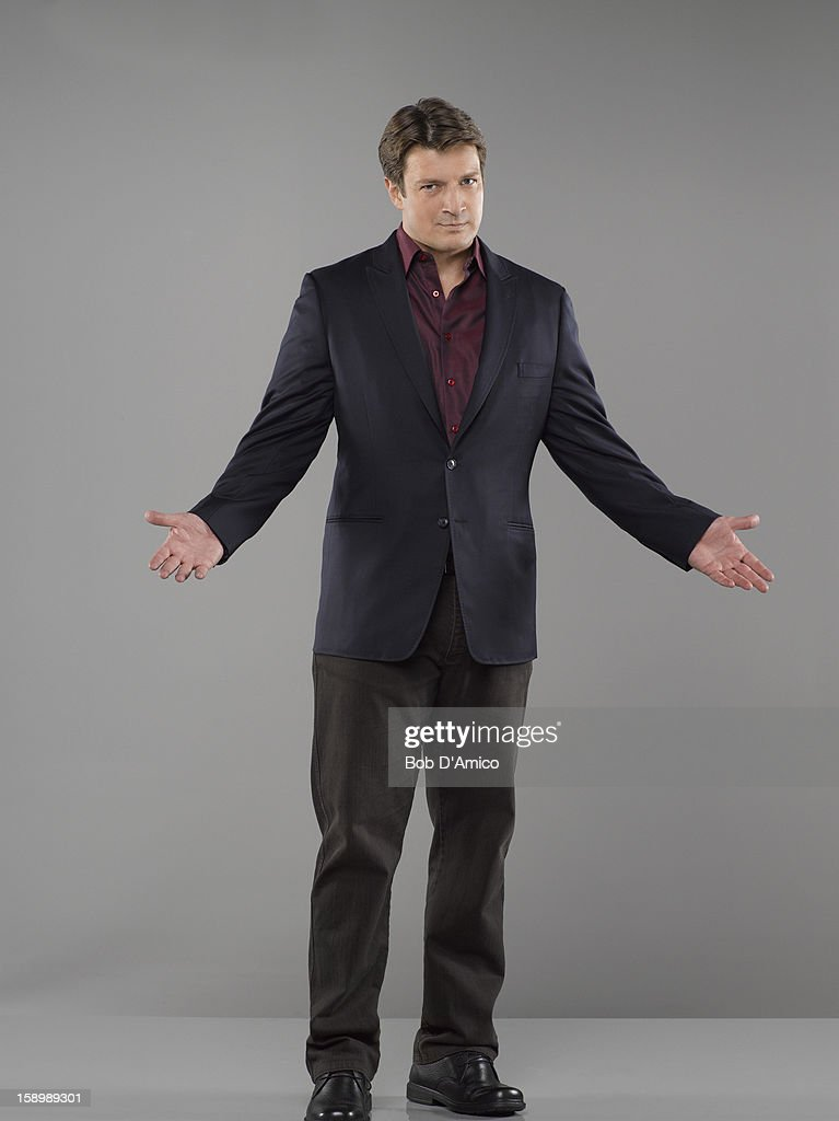 CASTLE - ABC's 'Castle' stars Nathan Fillion as Richard Castle.