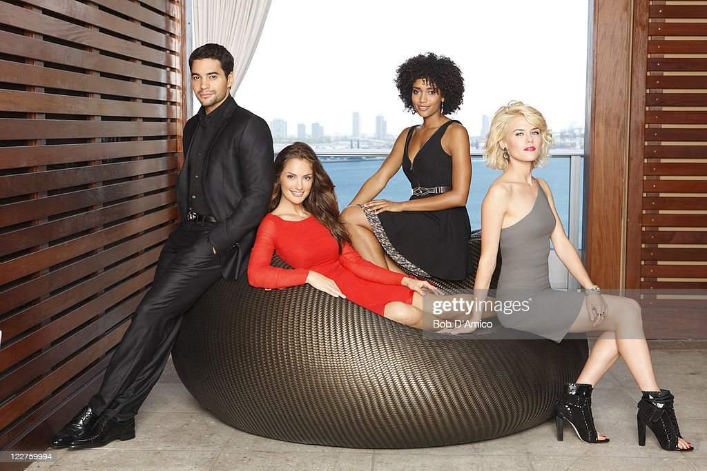 S ANGELS - ABC's 'Charlie's Angels' stars and Ramon Rodriguez as John Bosley, Minka Kelly as Eve French, Annie Ilonzeh as Kate Prince and Rachael Taylor as Abby Sampson.