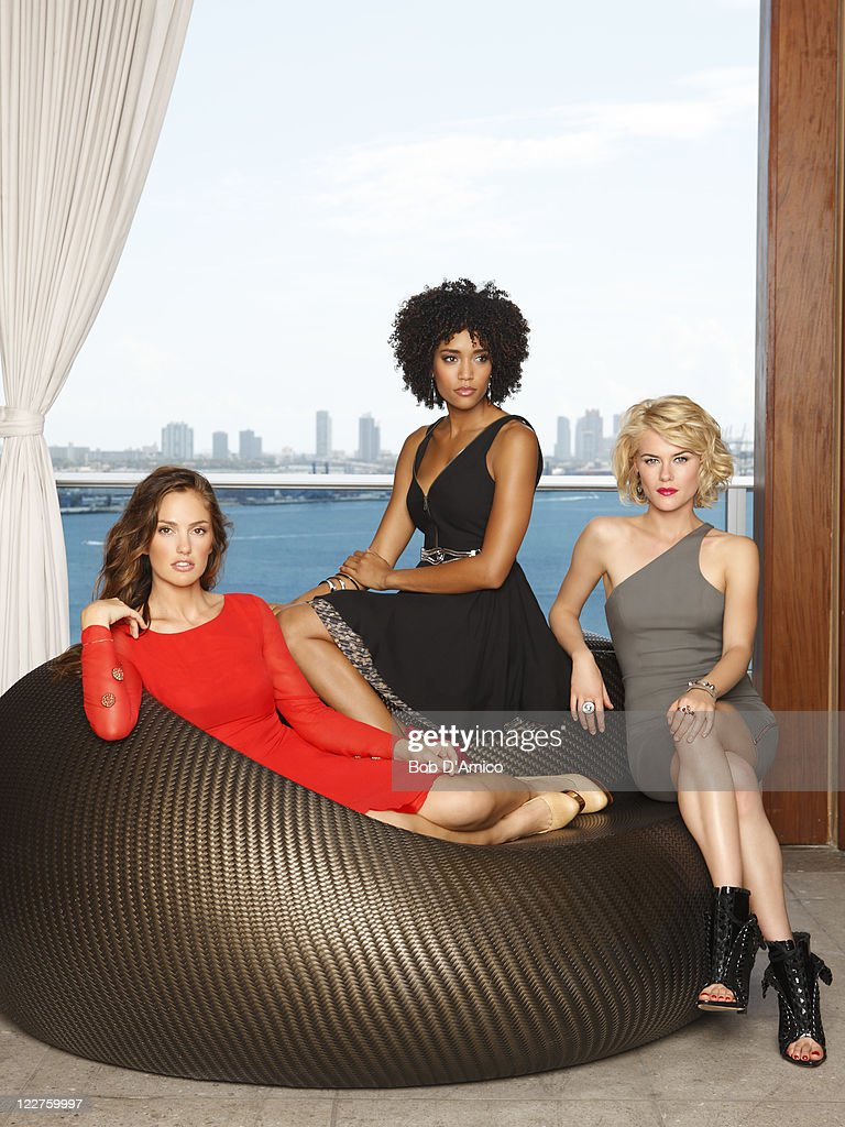 S ANGELS - ABC's 'Charlie's Angels' stars Minka Kelly as Eve French, Annie Ilonzeh as Kate Prince and Rachael Taylor as Abby Sampson.