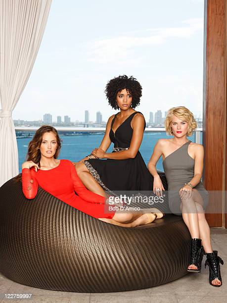 S ANGELS ABC's 'Charlie's Angels' stars Minka Kelly as Eve French Annie Ilonzeh as Kate Prince and Rachael Taylor as Abby Sampson