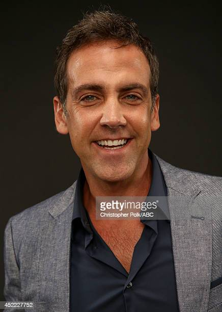 ABC's 'Cristela' actor Carlos Ponce poses for a portrait during ABC's 2014 TCA summer press tour at The Beverly Hilton Hotel on July 15 2014 in...