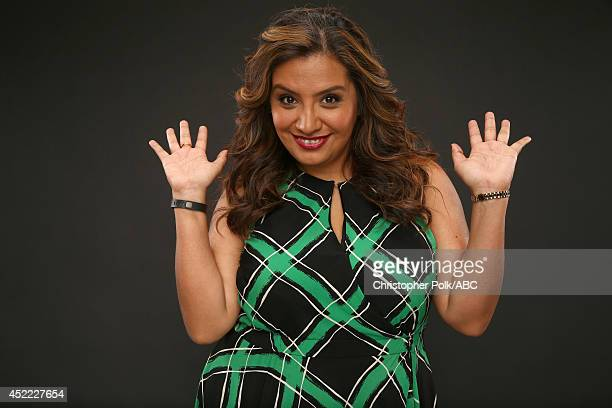 ABC's 'Cristela' actress Cristela Alonzo poses for a portrait during ABC's 2014 TCA summer press tour at The Beverly Hilton Hotel on July 15 2014 in...