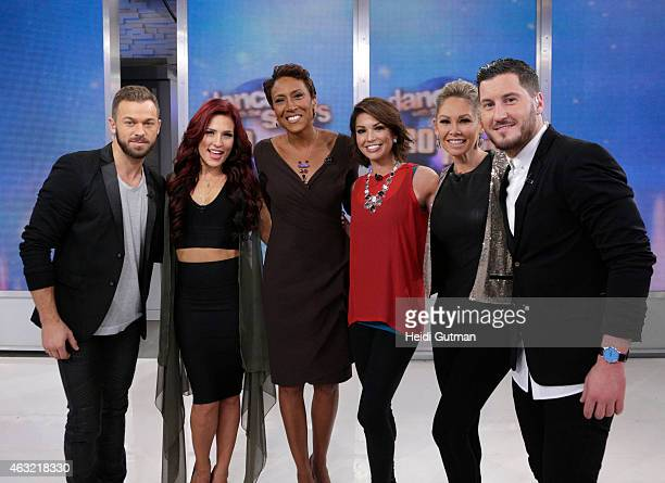 AMERICA ABCs 'Dancing With the Stars' announces the pro dancers on 'Good Morning America' 2/11/15 airing on the ABC Television Network