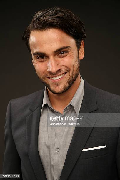 ABC's 'How to Get Away with Murder' actor Jack Falahee poses for a portrait during ABC's 2014 TCA summer press tour at The Beverly Hilton Hotel on...