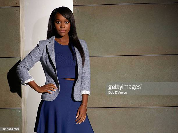 MURDER ABC's 'How to Get Away with Murder' stars Aja Naomi King as Michaela Pratt