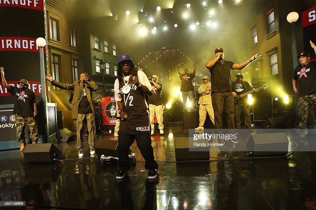 LIVE - ABC's 'Jimmy Kimmel Live' returned to the host's hometown of Brooklyn, New York for five original shows which tape live from the Brooklyn Academy of Music's Howard Gilman Opera House. The guests for FRIDAY, OCTOBER 23 included radio & TV personality Howard Stern ('The Howard Stern Show') and musical guest Public Enemy.
