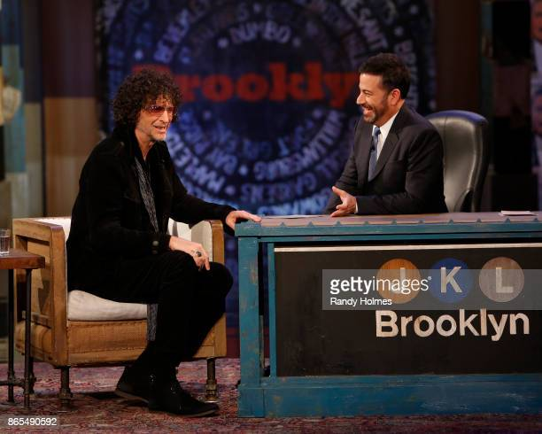 LIVE ABC's 'Jimmy Kimmel Live' returns to Brooklyn New York for five original shows The guests for Wednesday October 18 included Howard Stern musical...