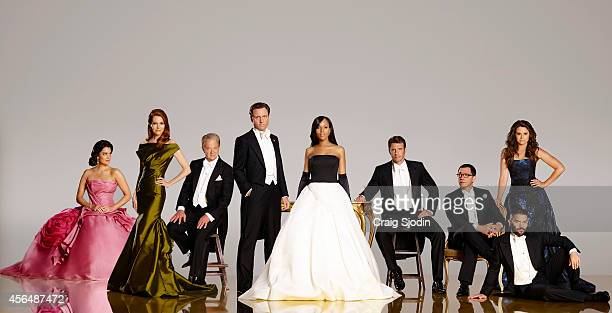 SCANDAL ABC's 'Scandal' stars Bellamy Young as First Lady Mellie Grant Darby Stanchfield as Abby Whelan Jeff Perry as Cyrus Tony Goldwyn as President...