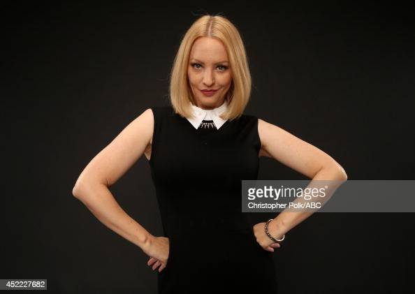 ABC's 'The Goldbergs' actress Wendi McLendonCovey poses for a portrait during ABC's 2014 TCA summer press tour at The Beverly Hilton Hotel on July 15...