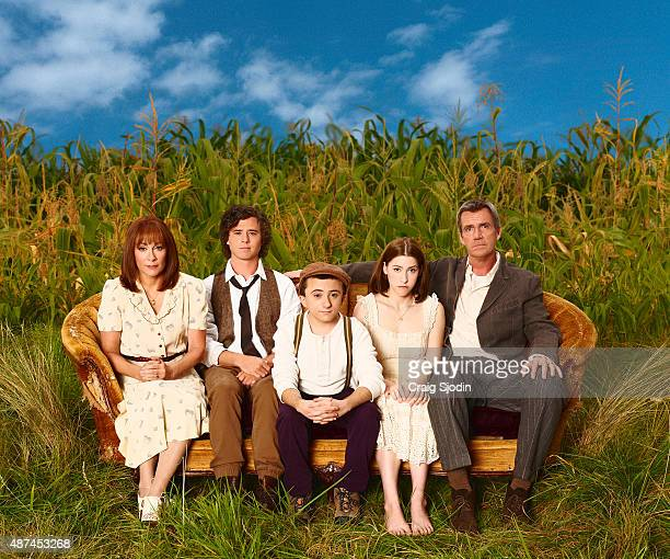 THE MIDDLE ABC's 'The Middle' stars Patricia Heaton as Frankie Charlie McDermott as Axl Atticus Shaffer as Brick Eden Sher as Sue and Neil Flynn as...
