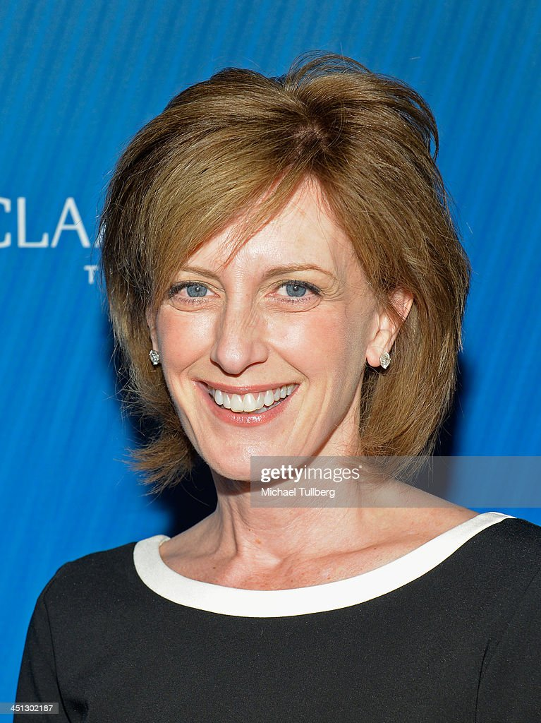 Walt Disney Vice-President Ann Sweeney attends the 2013 Joh Wooden Global Leadership Awards hosted by the UCLA Anderson School of Management at The Beverly Hilton Hotel on November 21, 2013 in Beverly Hills, California.