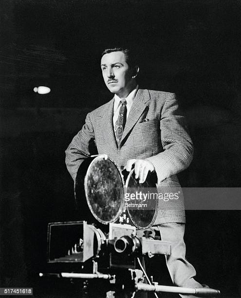 Walt Disney with Camera