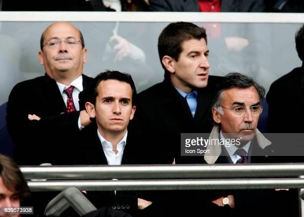 Walter BUTLER Alexandre BOMPARD Pierre BLAYAU Paris St Germain / Lille 1/4 Finale de la Coupe de France
