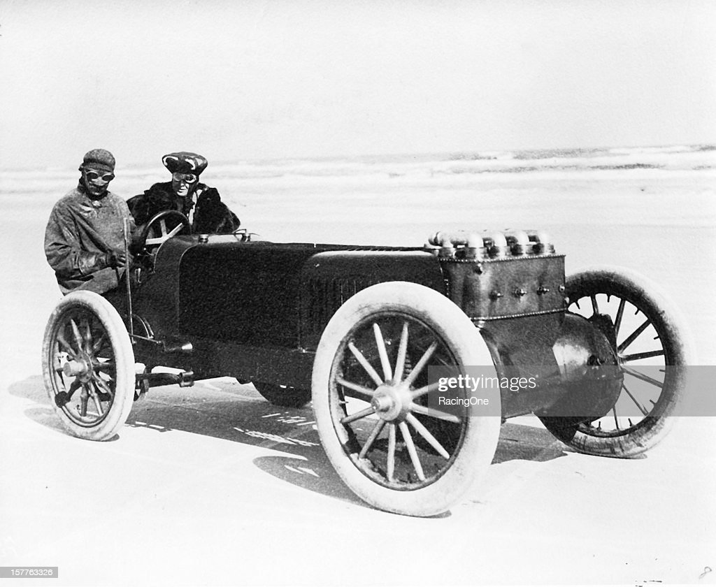 Walter Christie was one of several drivers making speed runs on Daytona Beach during the year utilizing his unique frontwheeldrive creation His...