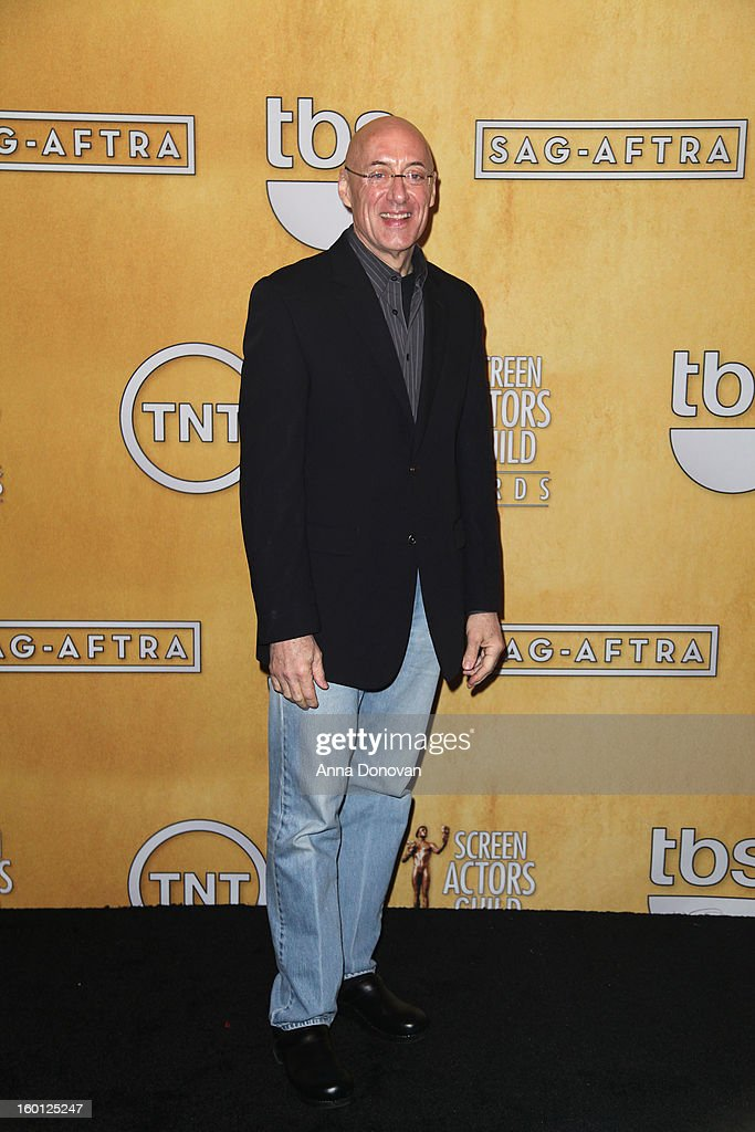 Walter Cline attends the Red Carpet Roll Out and presenter rehearsals for the 19th annual Screen Actors Guild Awards at The Shrine Expo Hall on January 26, 2013 in Los Angeles, California.