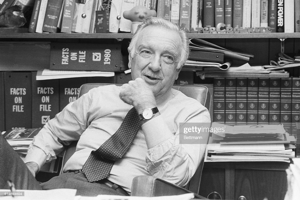Image result for walter cronkite  getty images