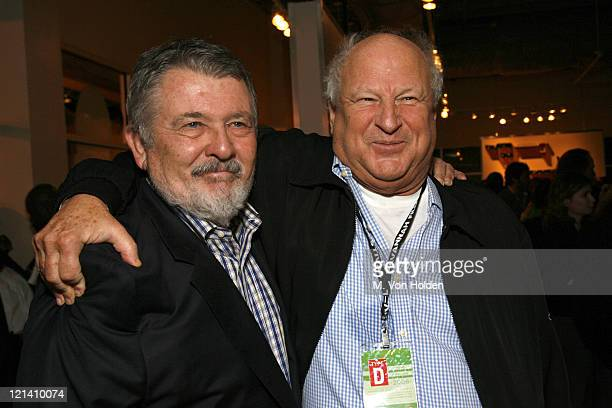 Walter Hill Director and Bobby Zarem during The 9th Annual SCAD Savannah Film Festival 'The Three Burials of Melquiades Estrada' Screening After...