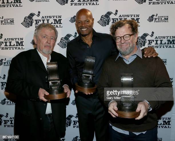 Walter Hill Keenen Ivory Wayans and Kenneth Lonergan attend the AFF Awards Luncheon during Austin Film Festival at the Austin Club on October 28 2017...