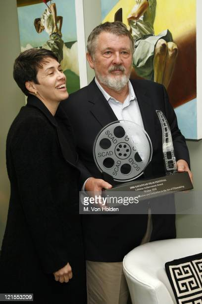 Walter Hill Winner of the Lifetime Achievement Award in Cinema and Hildy Hill wife