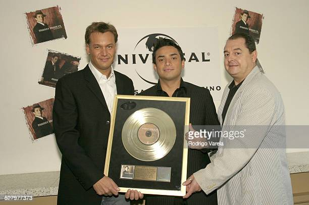 Walter Kolm Sr VP Marketing and AR Universal Music Latino Manny Manuel John Echevarria President Universal Music Latino
