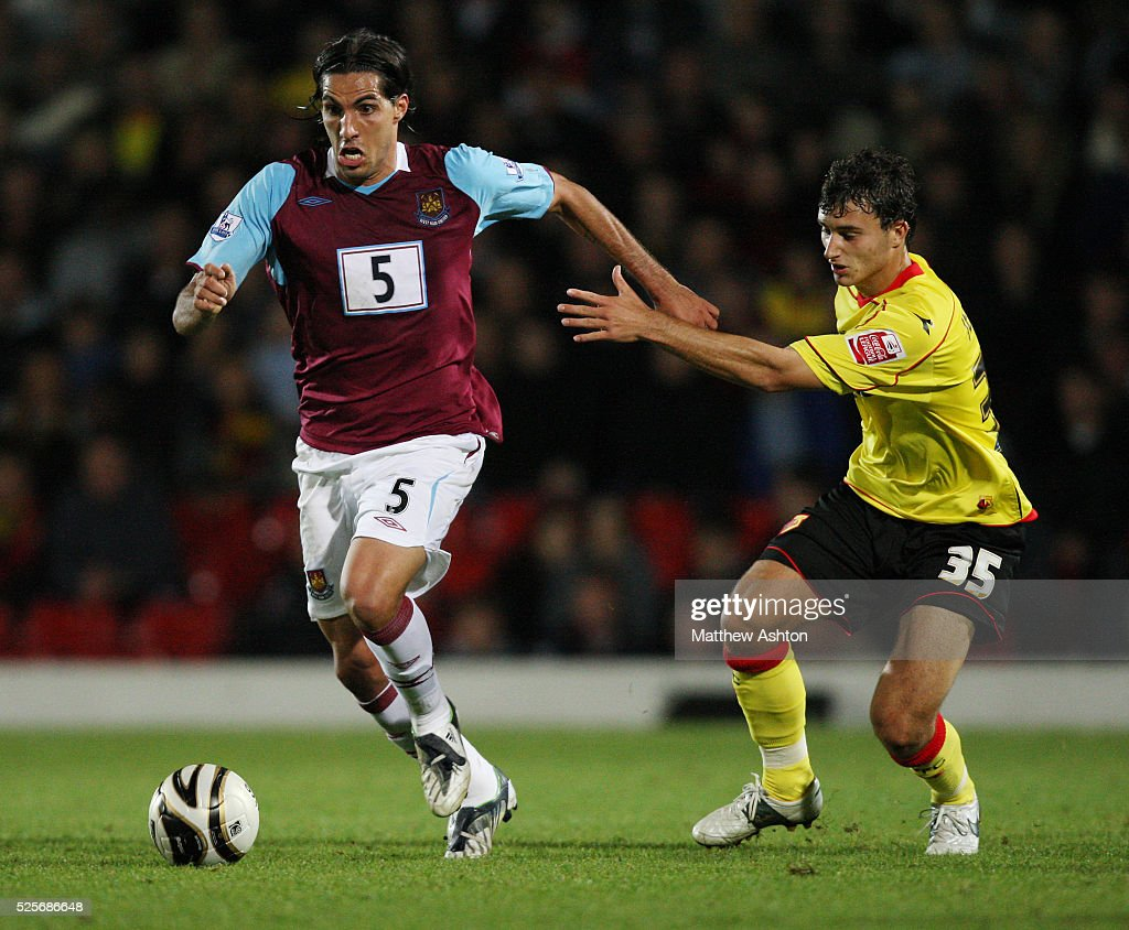 walter lopez stock photos and pictures getty images walter lopez of west ham united and ross jenkins of watford