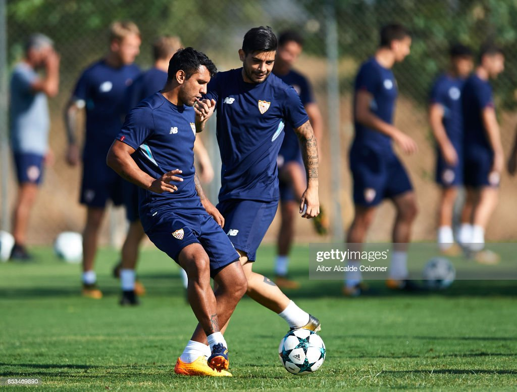 Sevilla Training and Press Conference s and