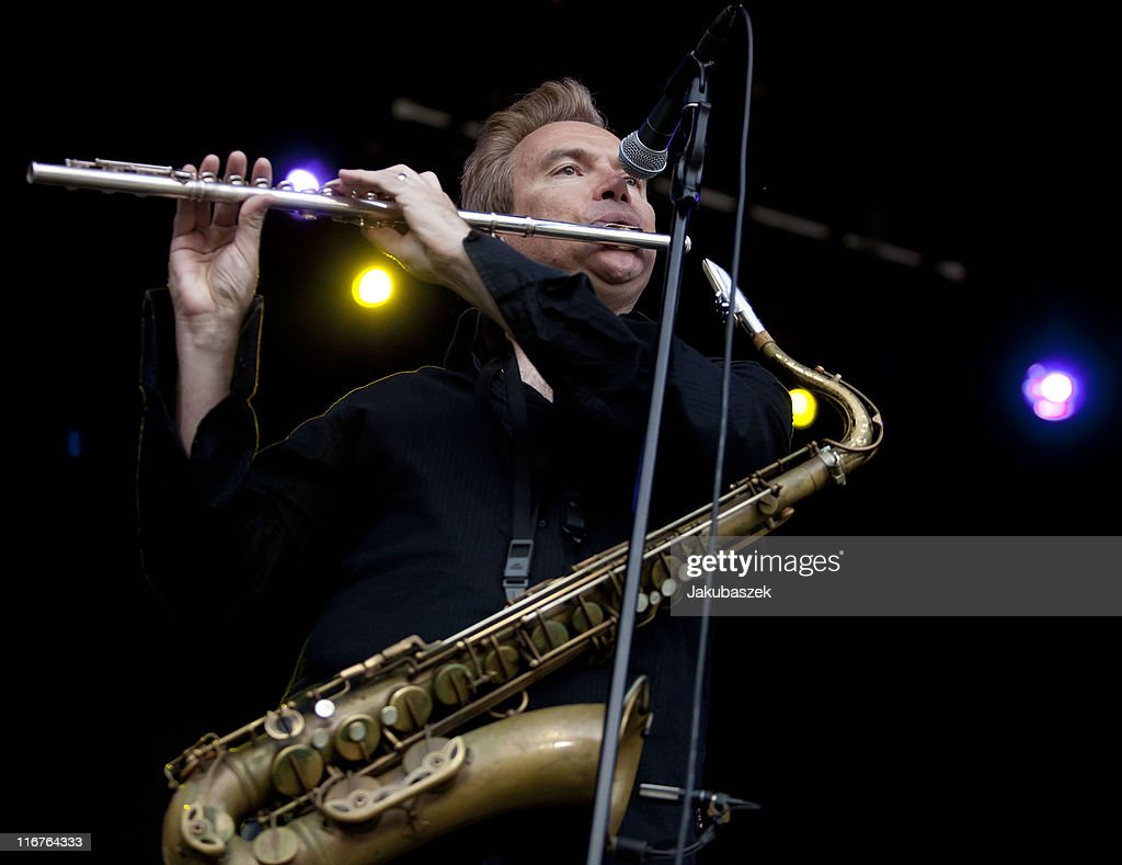 Walter Parazaider of the US Jazzrock band Chicago performs live during a concert at the Zitadelle Spandau on June 17, 2011 in Berlin, Germany.