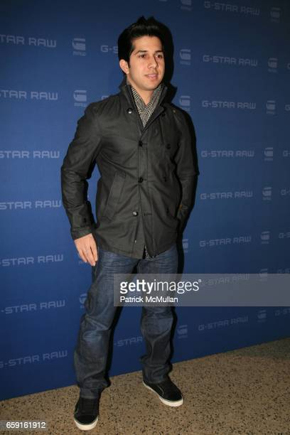 Walter Perez attends GSTAR RAW Presents Fall/Winter 2009 Collection at New York Fashion Week at Hammerstein Ballroom on February 17 2009 in New York...