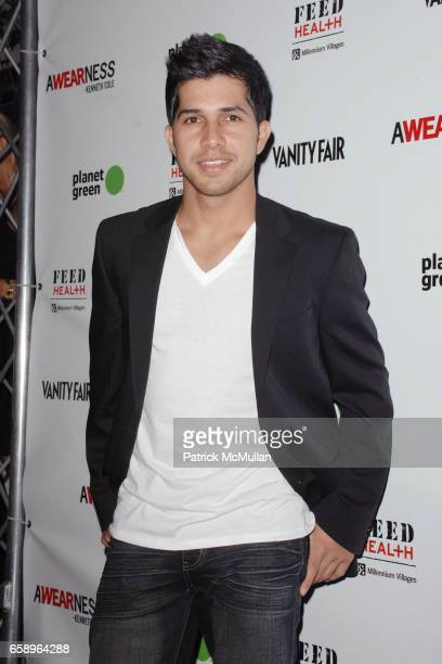 Walter Perez attends KENNETH COLE'S AWEARNESS FEED PROJECTS LAUNCH THE FEED HEALTH BACKPACK at Living Homes Santa Monica on August 26 2009 in Santa...