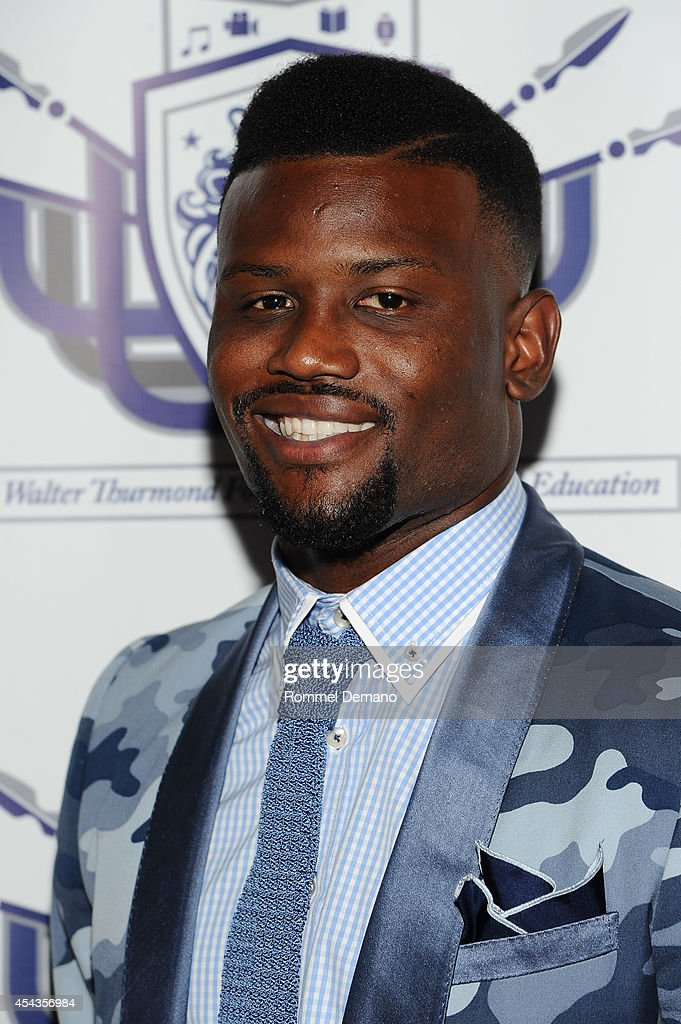 Walter Thurmond attends the Walter Thurmond Foundation for Arts & Education Launch at Shadow Boxers on August 29, 2014 in New York City.
