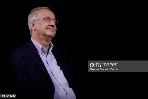 Walter Veltroni partecipates at 'Born Democrats' event to celebrate 10 years since the birth of the Democratic Party at the Eliseo Theatre on October...