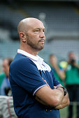 Walter Zenga during the preliminary of Europa League match between UC Sampdoria and FK Vojvodina at the Olympic Stafium of Turin on july 30 2015 in...