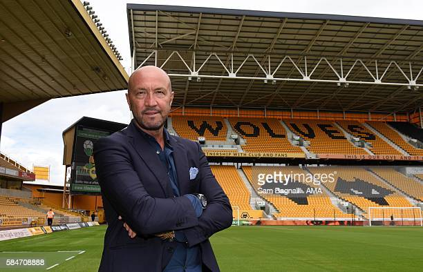 Walter Zenga manager of Wolverhampton Wanderers before the PreSeason Friendly match between Wolverhampton Wanderers and Swansea City at Molineux on...