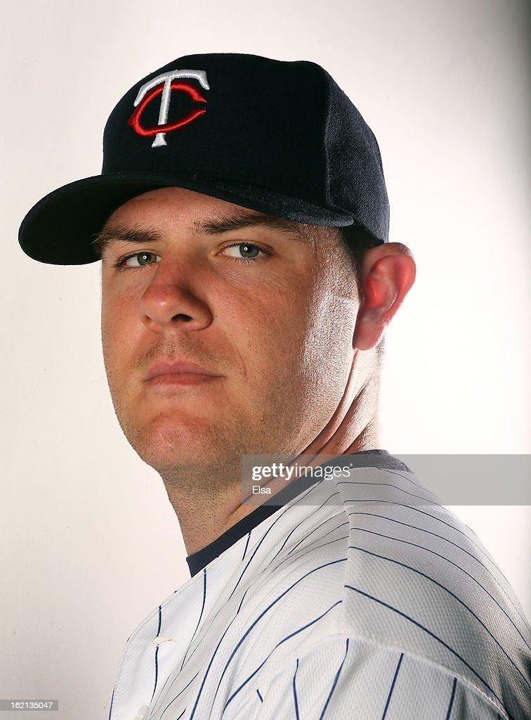 P.J. Walters #39 of the Minnesota Twins poses for a portrait on February 19, 2013 at Hammond Stadium in Fort Myers, Florida.