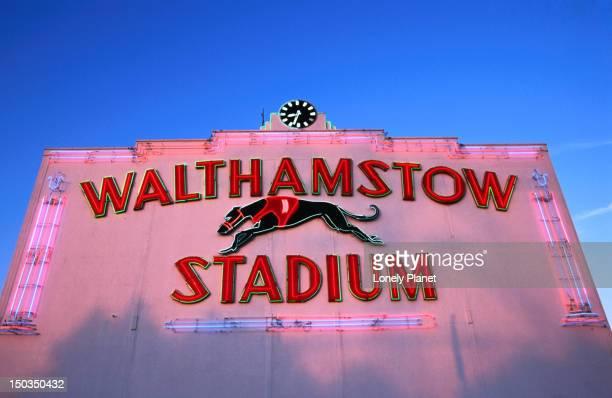 Walthamstow Greyhound Stadium.