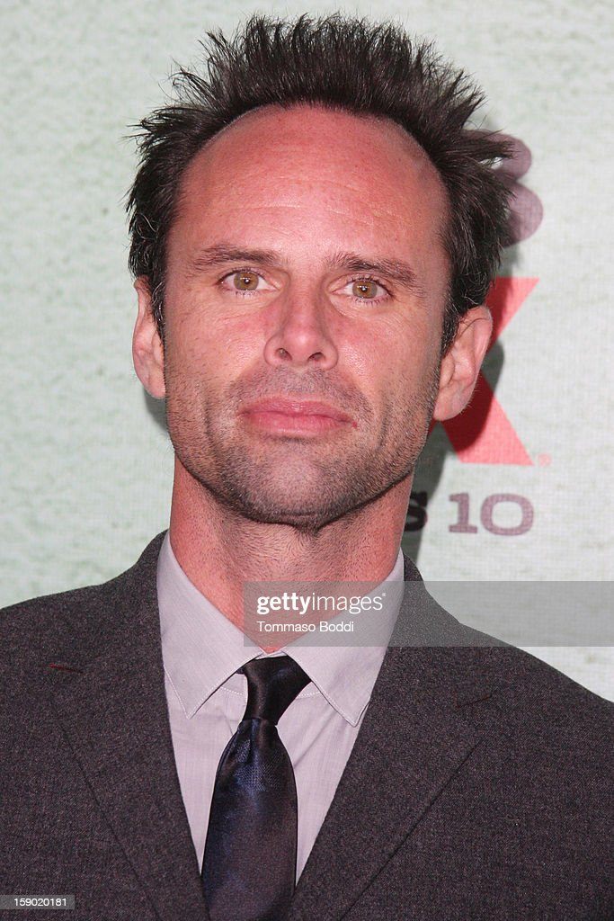 Walton Goggins attends the FX's 'Justified' season 4 premiere held at Paramount Theater on the Paramount Studios lot on January 5, 2013 in Hollywood, California.