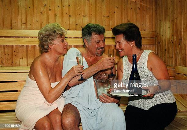 Waltraut Haas Ehemann Erwin Strahl HelgaDolezal 'BeautyVitalResidenz HelgaDolezal' Kur Hotel Burgenland Sauna