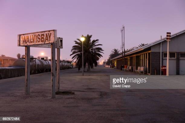Walvis Bay Station in Namibia