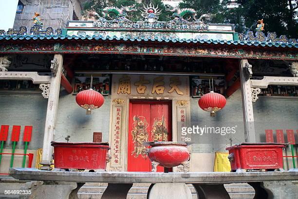 Wan Chai, Central, Hong Kong, Man Mo Temple.