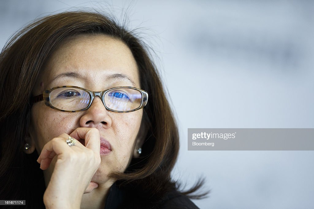 Wan Ling Martello, chief financial officer of Nestle SA, attends a news conference to announce the company's annual results in Vevey, Switzerland, on Thursday, Feb. 14, 2013. Nestle SA said it expects 2013 to be as challenging as last year, when sales missed analysts' estimates on a slowdown in emerging markets, a region the world's largest food company is increasingly dependent upon. Photographer: Valentin Flauraud/Bloomberg via Getty Images