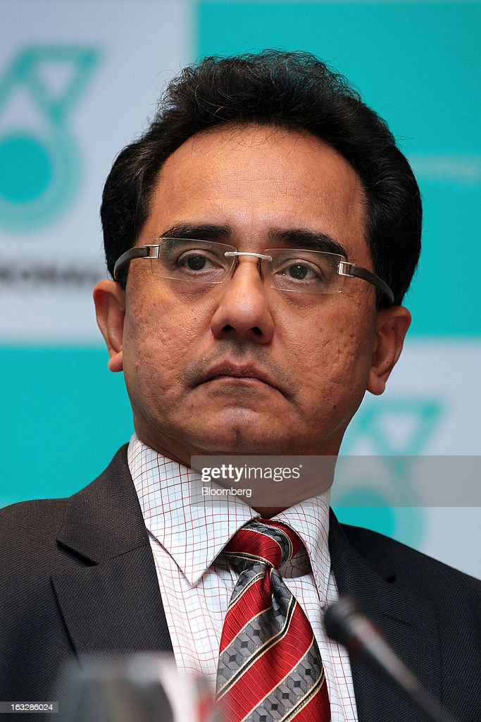 Wan Zulkiflee Wan Ariffin, chief operating officer of Petroliam Nasional Bhd. (Petronas), attends a news conference in Kuala Lumpur, Malaysia, on Thursday, March 7, 2013. Petronas, Malaysia's state energy company, defended its 8.8 billion ringgit ($2.8 billion) buyout offer price for MISC Bhd. after criticism from minority shareholders that it's too low. Photographer: Goh Seng Chong/Bloomberg via Getty Images