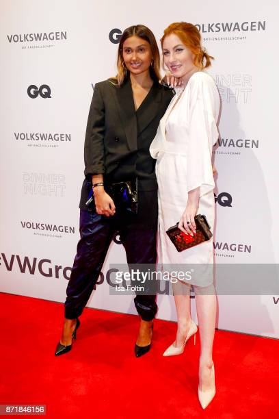 Wana Limar and Lisa Banholzer attend the Volkswagen Dinner Night prior to the GQ Men of the Year Award 2017 on November 8 2017 in Berlin Germany