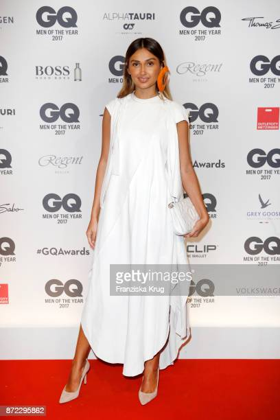 Wana Limar arrives for the GQ Men of the year Award 2017 at Komische Oper on November 9 2017 in Berlin Germany