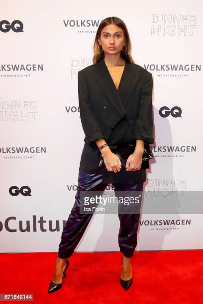 Wana Limar attends the Volkswagen Dinner Night prior to the GQ Men of the Year Award 2017 on November 8 2017 in Berlin Germany